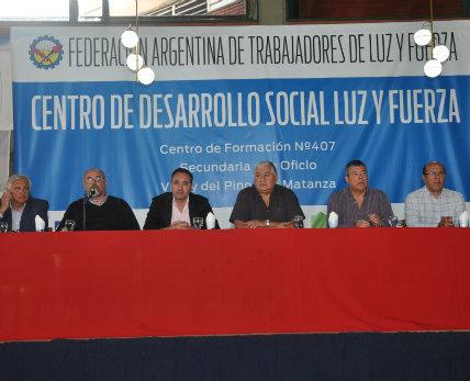 El Centro de Desarrollo Social Luz y Fuerza entregó1464 títulos en oficios